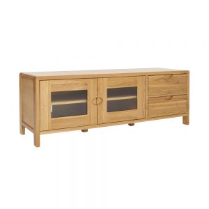 Ercol Bosco Wide TV Unit - 1394