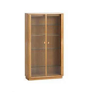 Ercol Windsor Medium Display Cabinet