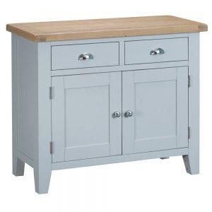 Henley Grey 2 Drawer 2 Door Sideboard