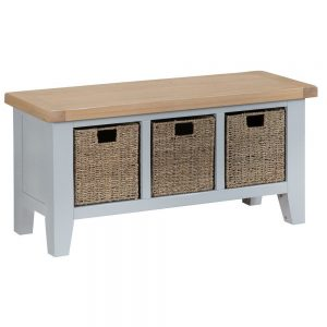 Henley Grey Large Hall Bench