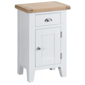 Henley White Small Cupboard