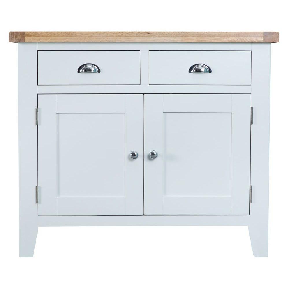 Henley White 2 Drawer 2 Door Sideboard