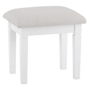 Croft White Stool