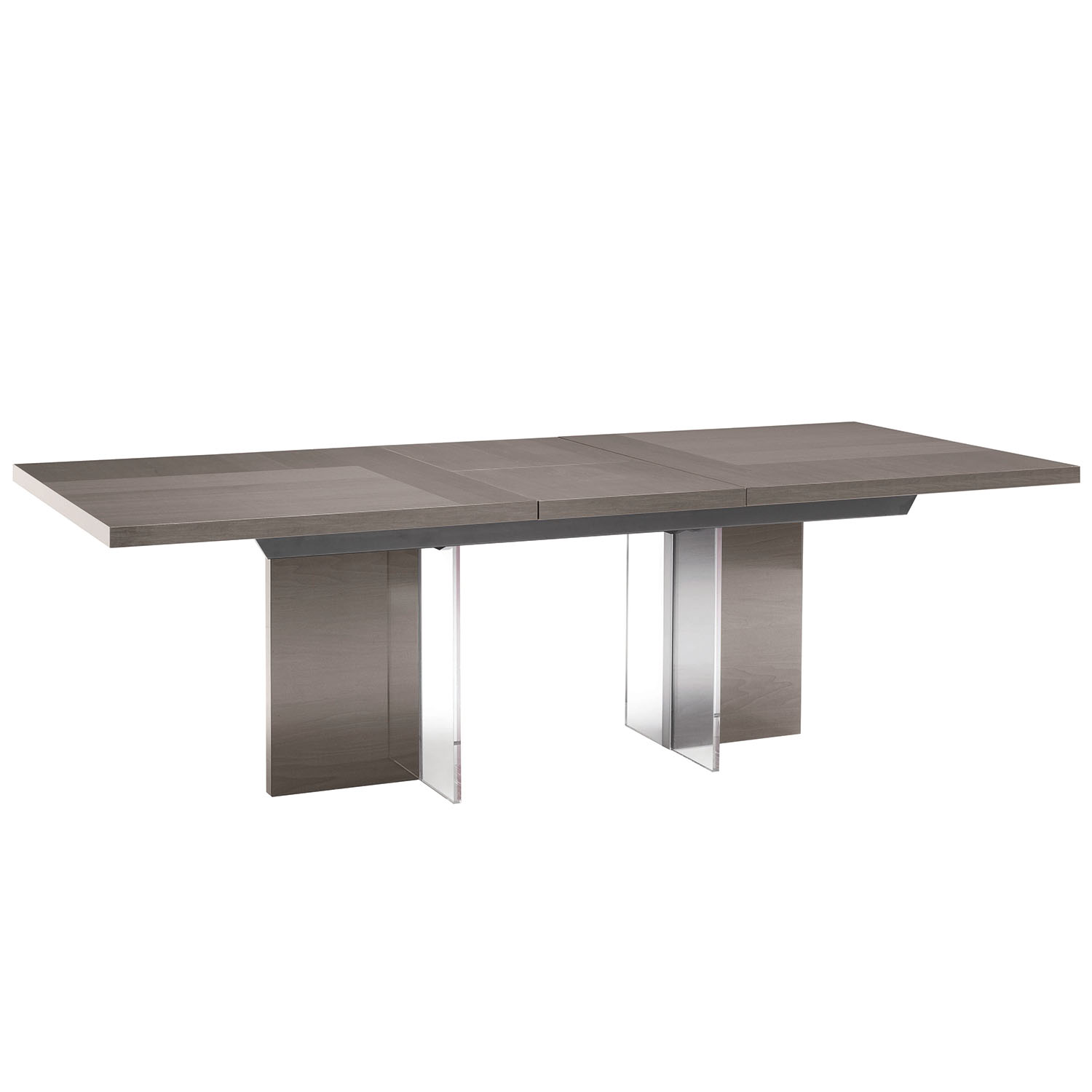 Mercury High Gloss 160-210cm Extending Dining Table