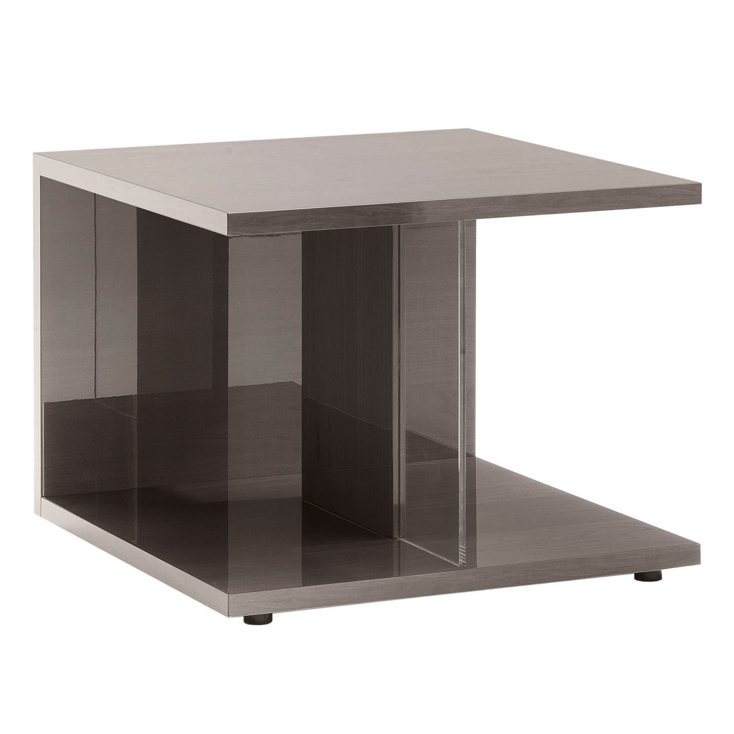 Mercury High Gloss Side Table