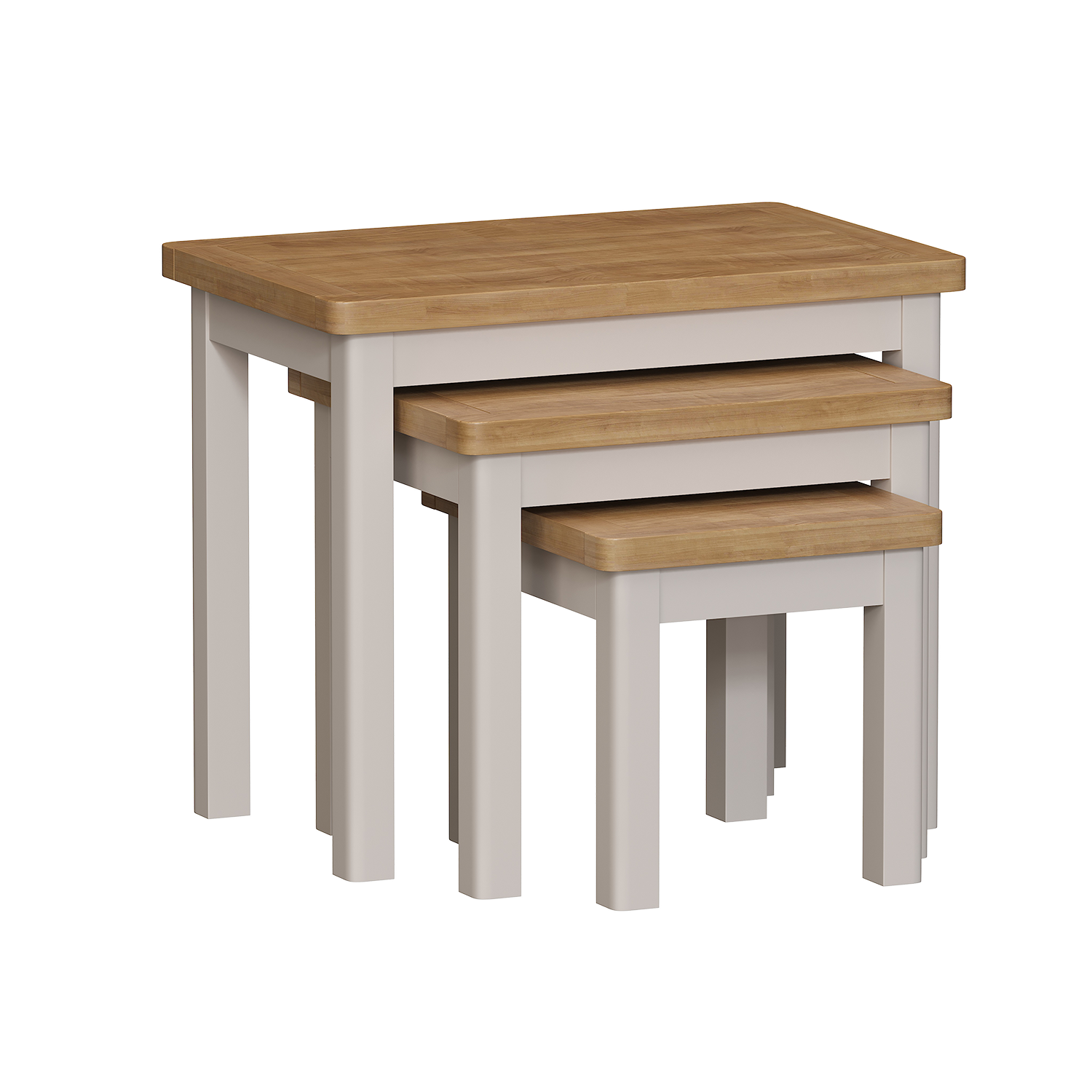 Chiltern Dove Nest of 3 Tables