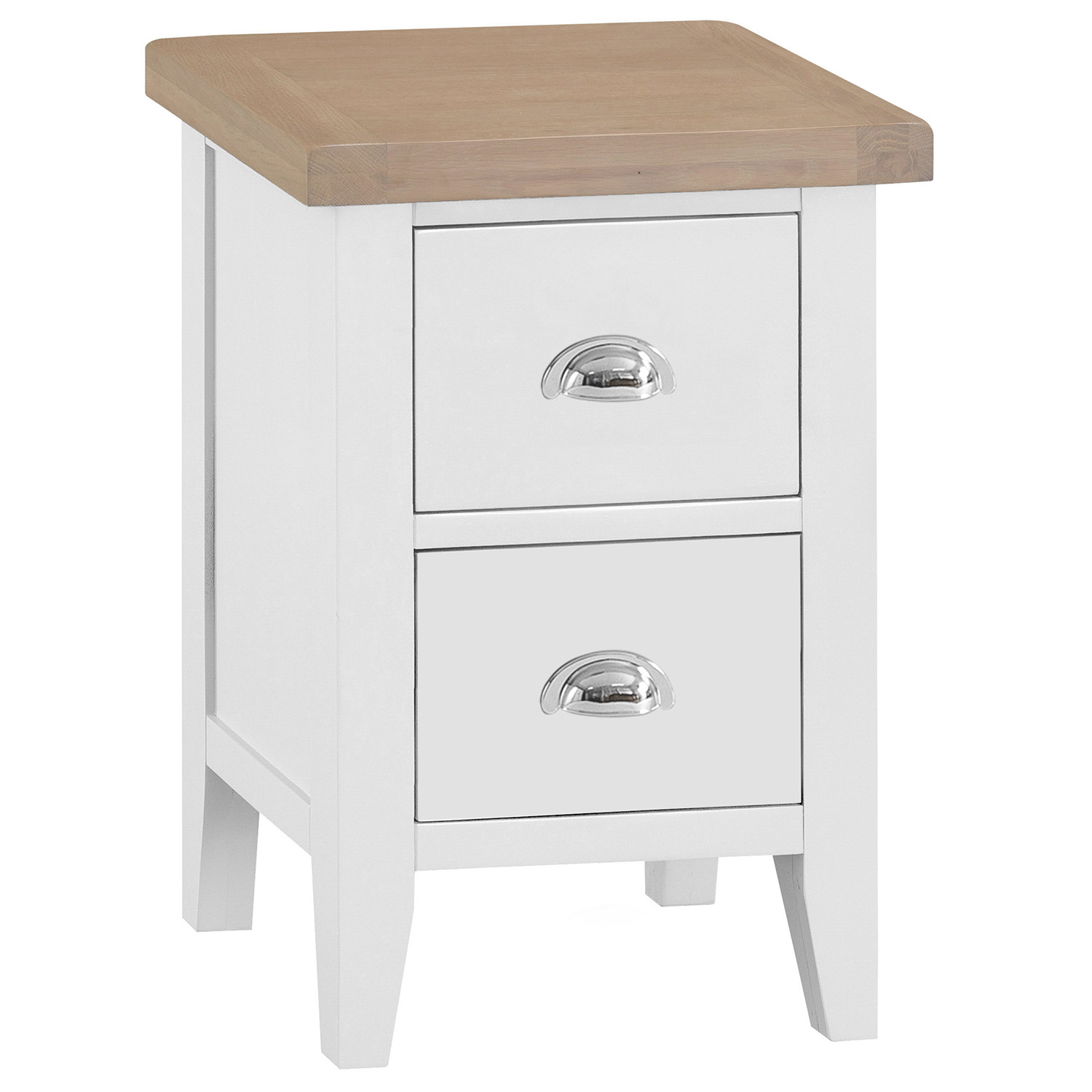 Henley White Small Bedside