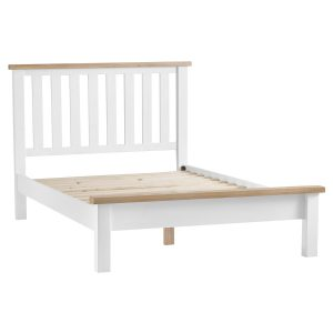Henley White 150cm Bedstead