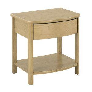 Nathan Shades Oak Shaped Lamp Table - 5905