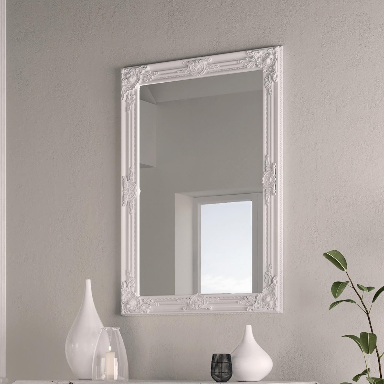 Rectangular White Frame 75x105