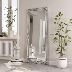 Leaner Silver Frame 75x165