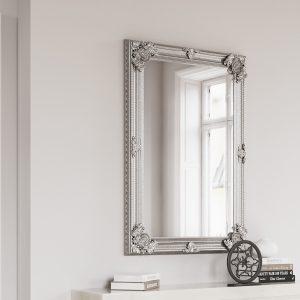 Rectangular Silver Frame 80x115