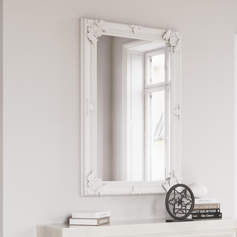 Rectangular White Frame 80x115