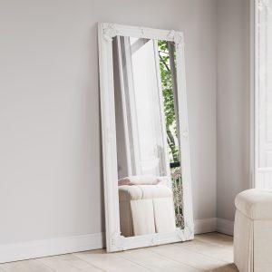 Leaner White Frame 80x175
