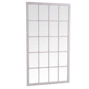 Leaner Window Mirror Grey