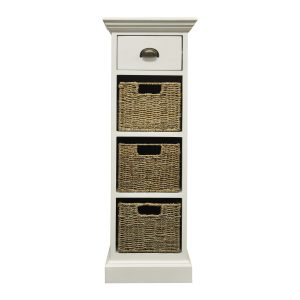 Stamford 1 Drawer 3 Basket Unit