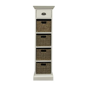 Stamford 1 Drawer 4 Basket Unit