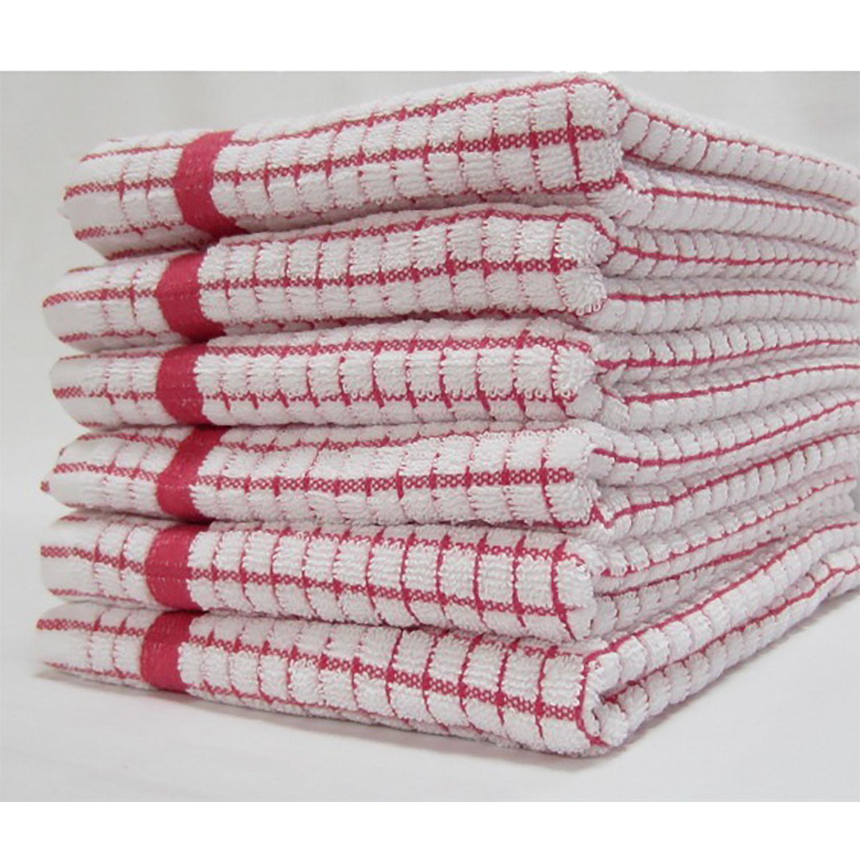 Super Dry Tea Towel - Red
