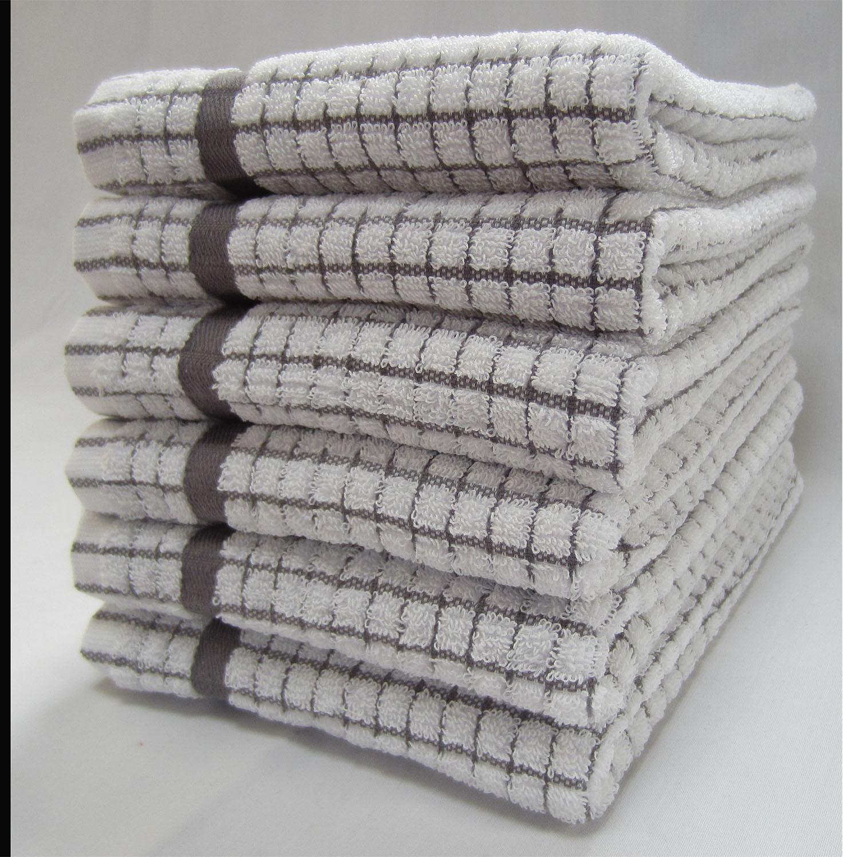 Super Dry Tea Towel - Grey