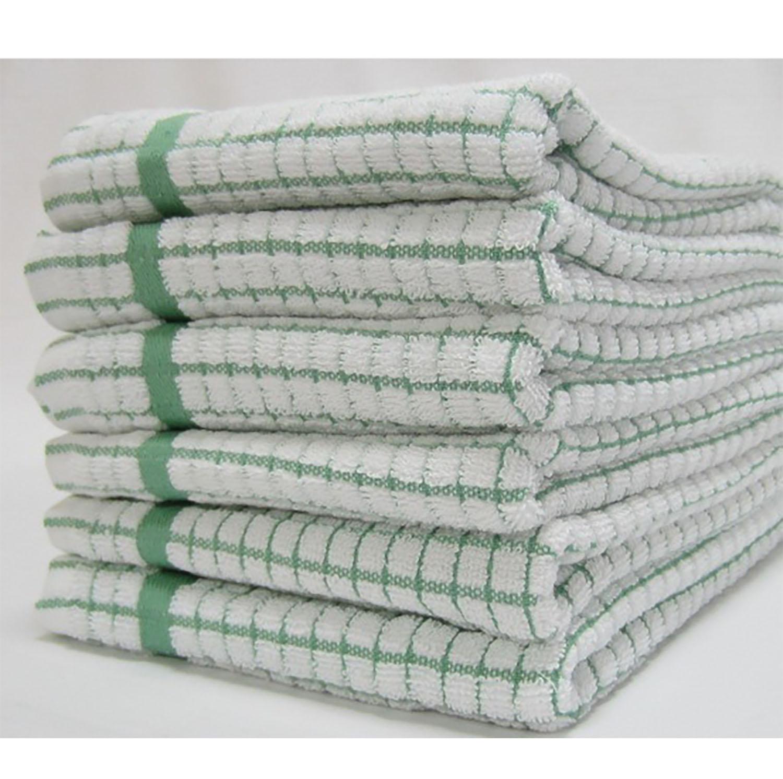 Super Dry Tea Towel - Green