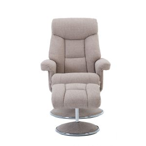 Bordeaux Swivel Recliner - Lisbon Wheat