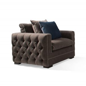 Merlin Accent Chair - Charcoal