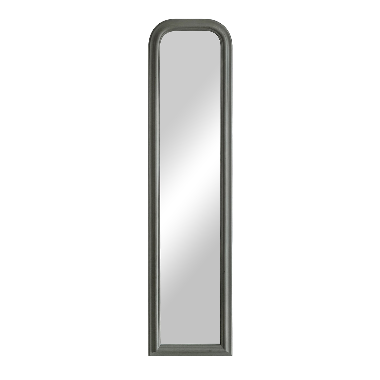 Arched Leaner Mirror- Grey