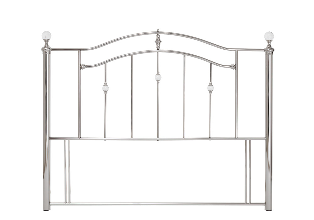 Ashley Headboard Nickel 180cm