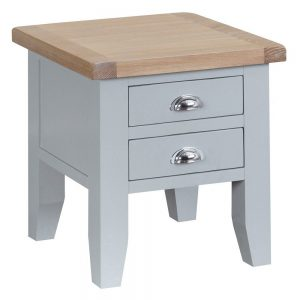 Henley Grey Lamp Table