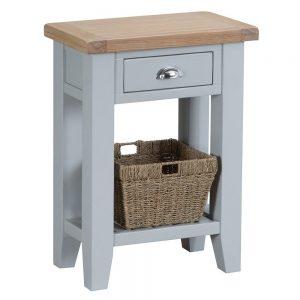 Henley Grey Telephone Table