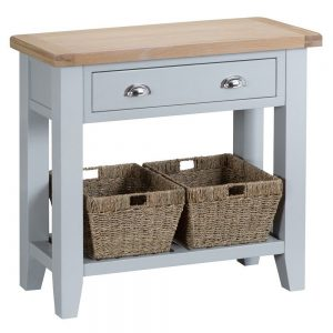 Henley Grey Console Table