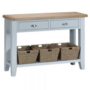 Henley Grey Large Console Table