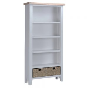 Henley Grey Large Bookcase