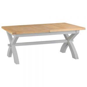 Henley Grey 180-230cm Cross Extending Table