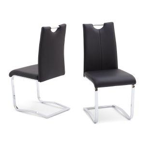 Riga Dining Chair Black