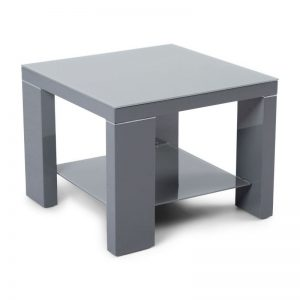 Berlin Side Table Dark Grey