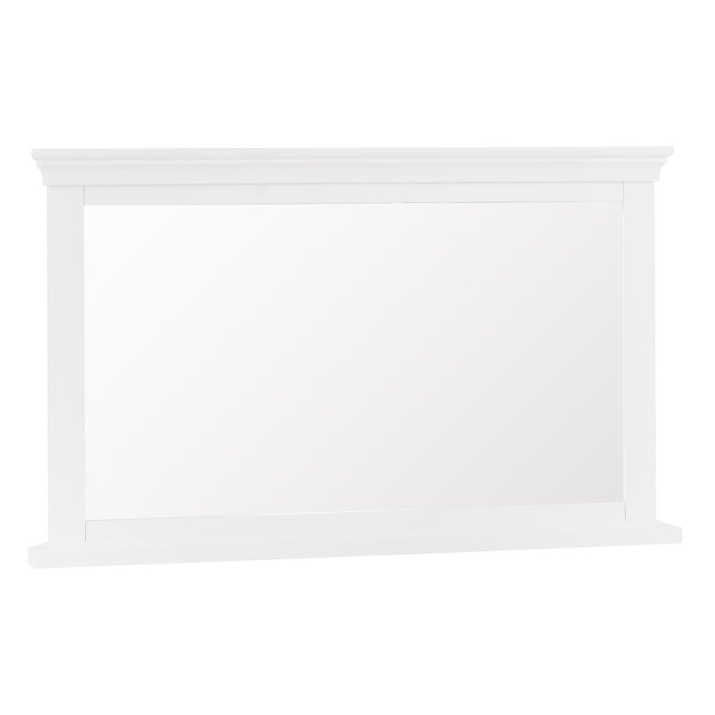 Croft White Wall Mirror