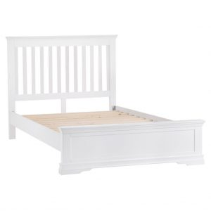 Croft White 135cm Bed