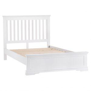 Croft White 150cm Bed