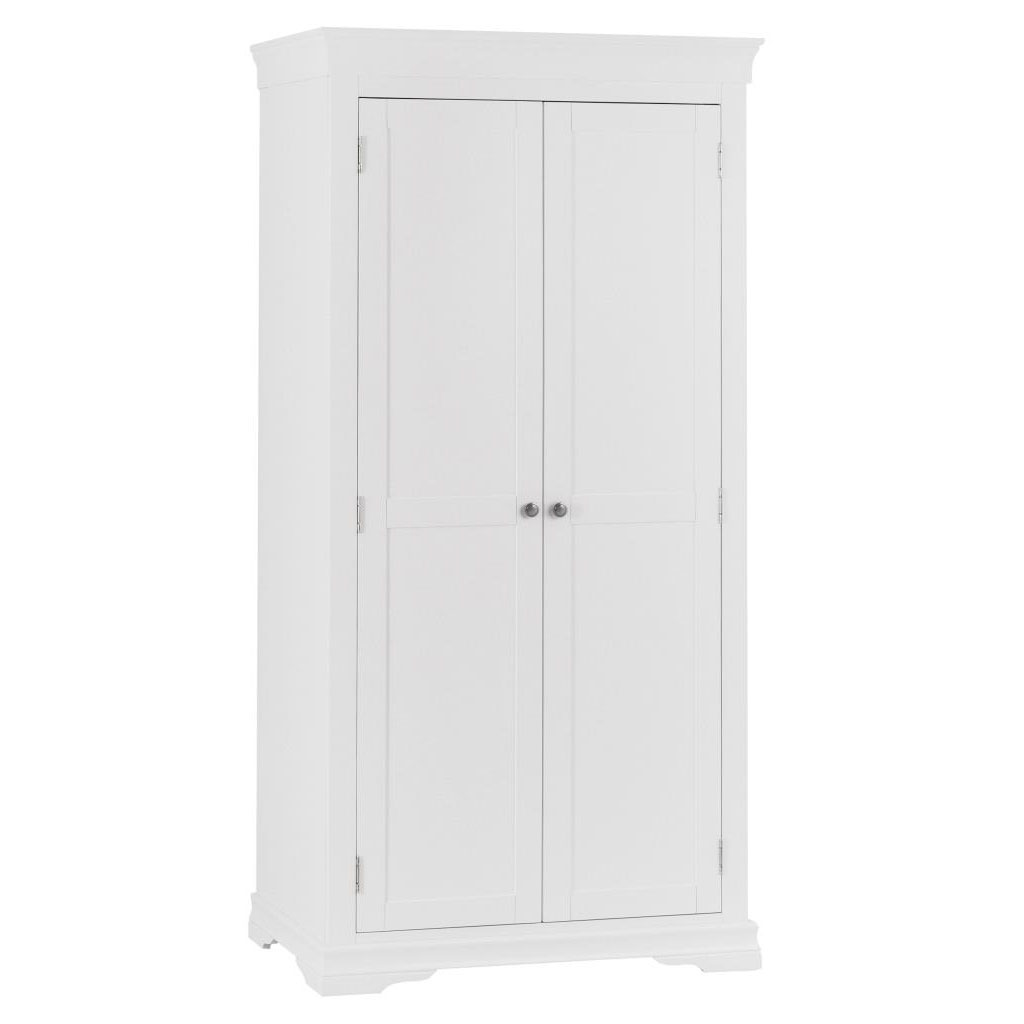 Croft White Full Hanging Wardrobe