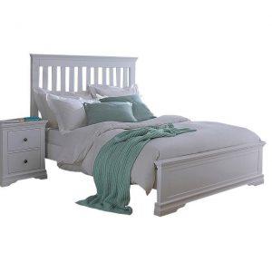 Croft Grey 150cm Bed