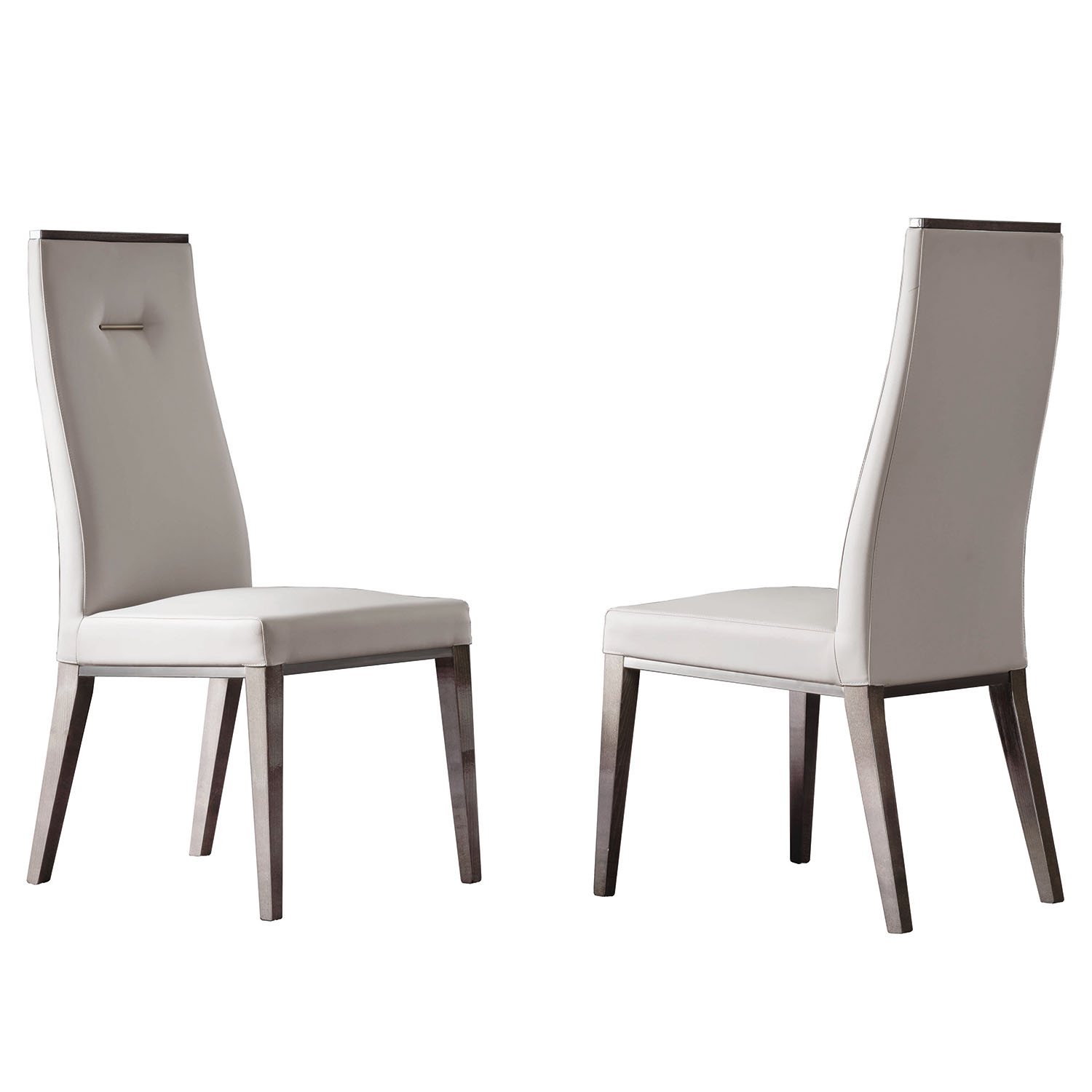 Mercury Cream Leather Dining Chair