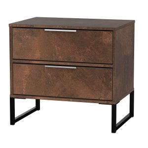 Diego Double 2 Drawer Midi Locker