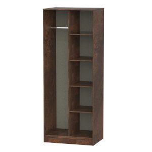 Diego Open Shelf Wardrobe
