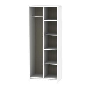 Diamond Open Shelf Wardrobe