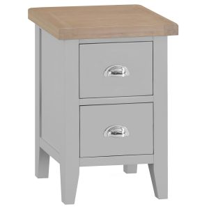 Henley Grey Small Bedside