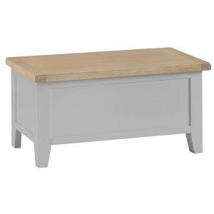 Henley Grey Blanket Box
