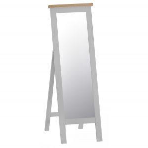 Henley Grey Cheval Mirror