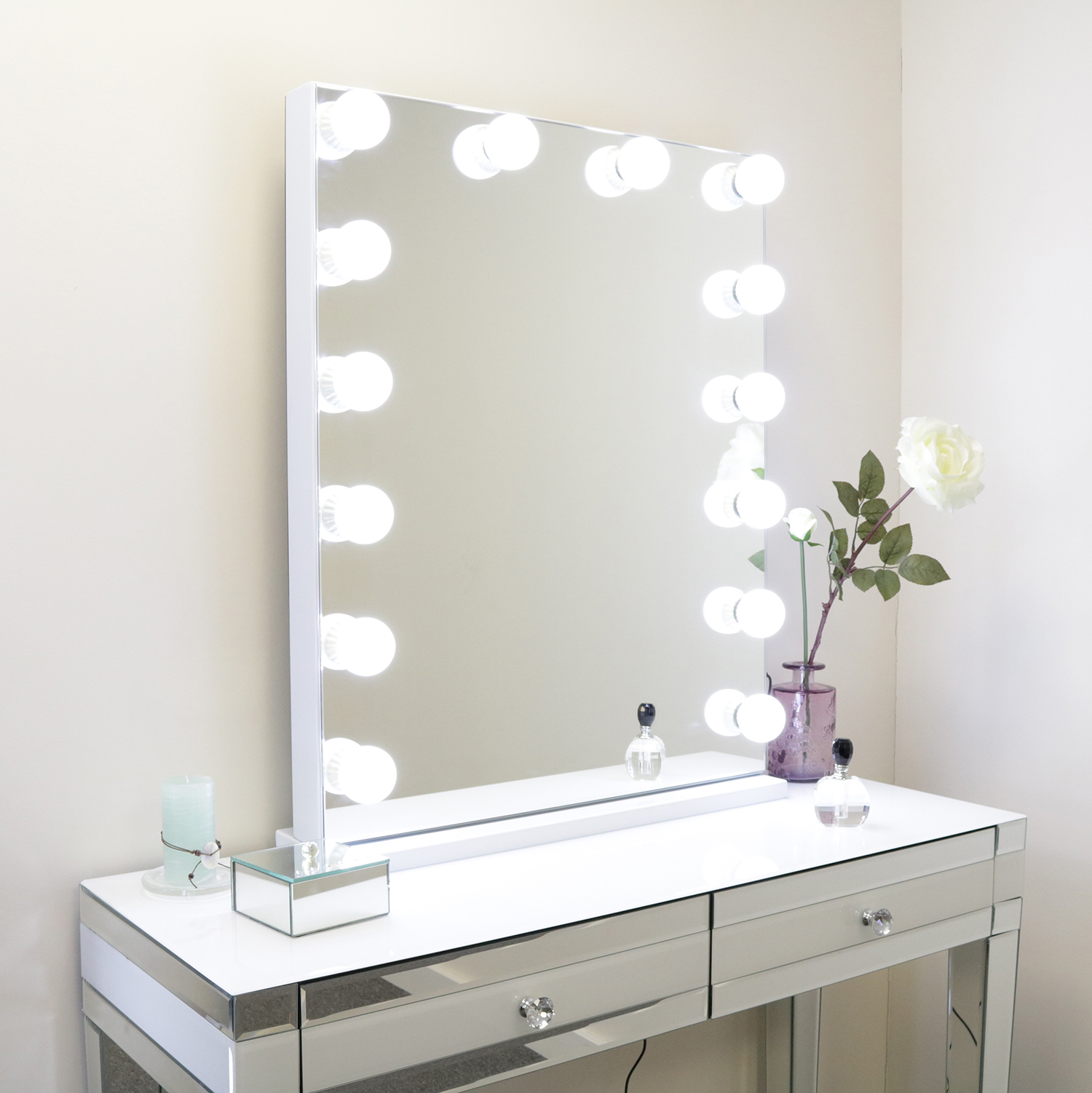 Hollywood Floor Mirror 800mm x 650mm