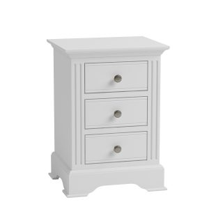 Whitby White Large Bedside